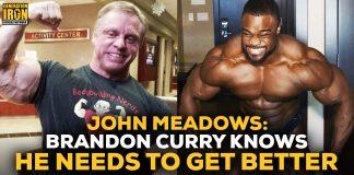 John Meadows Talks Brandon Curry