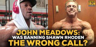 John Meadows Shawn Rhoden