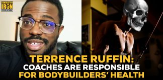 Terrence Ruffin coaches responsible for bodybuilder's health