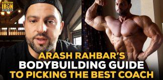 Arash Rahbar bodybuilding coach guide