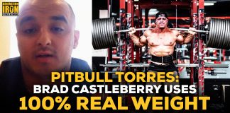 Pitbull Torres Brad Castleberry real weight
