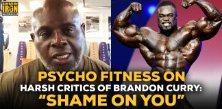Psycho Fitness talks Brandon Curry Criticism