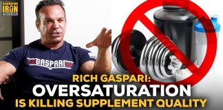 Rich Gaspari Supplements