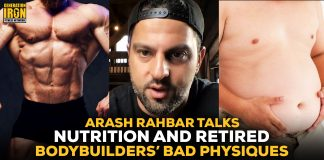 Arash Rahbar nutrition and bodybuilder physiques