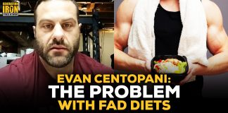 Evan Centopani Fad Diets Bodybuilding
