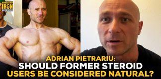 Adrian Pietrariu natural bodybuilding