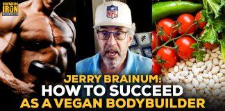 Jerry Brainum vegan bodybuilder