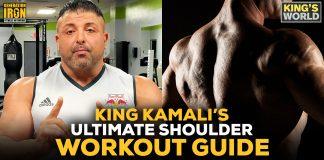 King Kamali shoulder workout guide