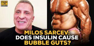 Milos Sarcev insulin bubble guts bodybuilding