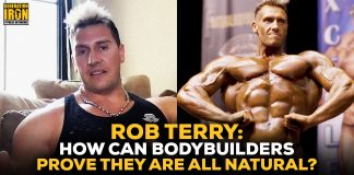 Rob Terry bodybuilders all natural