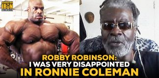 Robby Robinson disappointed in Ronnie Coleman
