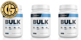 Transparent Labs Pre-Workout BULK review