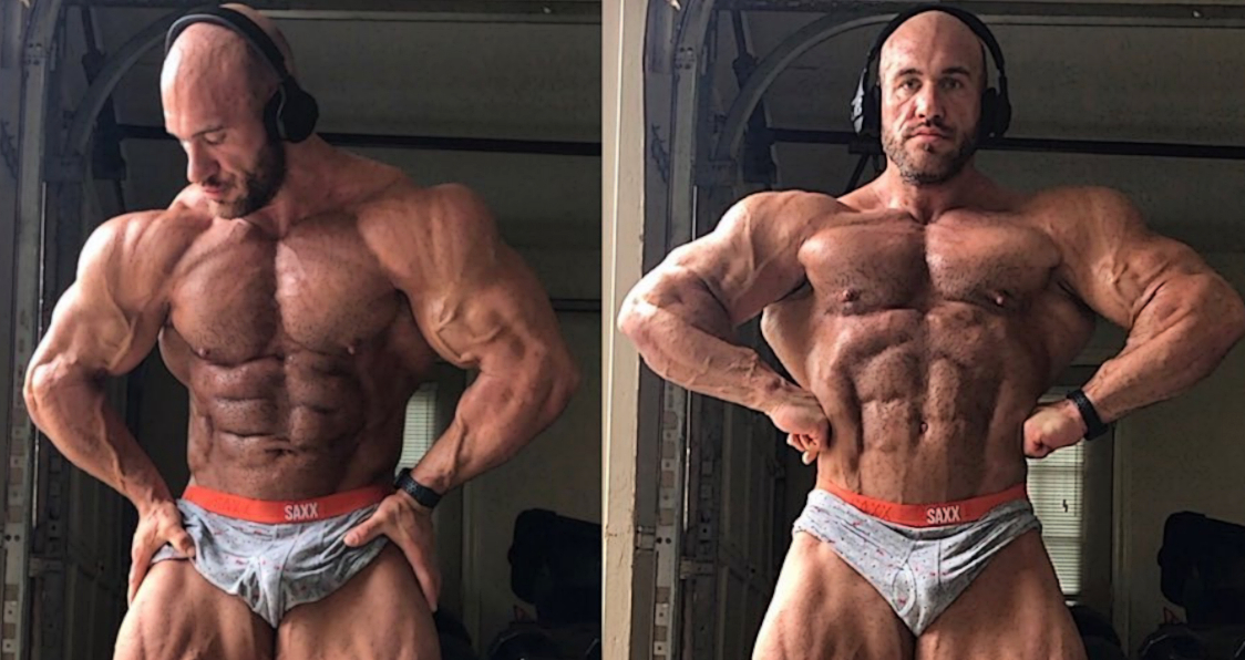 Antoine Vaillant Looks Massive and Shredded 9 Weeks Out From Boston Pro.