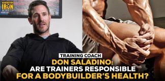 Don Saladino trainers bodybuilder health