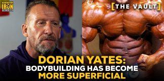 Dorian Yates bodybuilding superficial