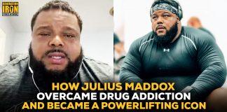 Julius Maddox drug addiction to powerlifting icon