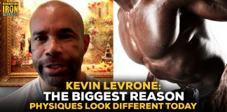 Kevin Levrone free weights vs exercise machines