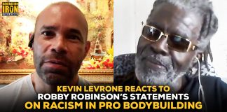 Kevin Levrone Robby Robinson racism in pro bodybuilding
