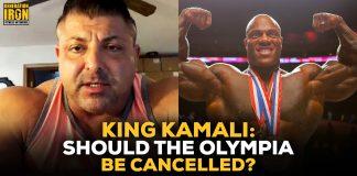 King Kamali Olympia Cancelled?