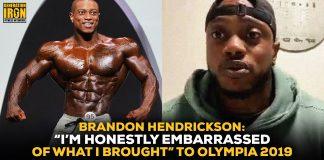 Brandon Hendrickson Olympia 2019