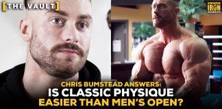Chris Bumstead Classic Physique vs Men's Open