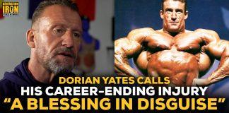 Dorian Yates Injury Retirement
