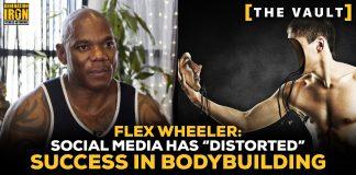 Flex Wheeler social media bodybuilding success