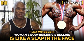 Flex Wheeler Woman's Bodybuilding