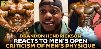 Brandon Hendrickson Men's Open vs Men's Physique