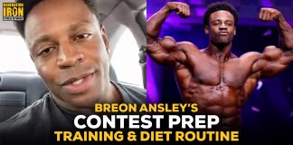 Breon Ansley Contest Prep Training & Diet