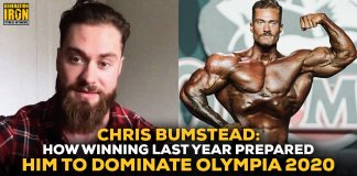 Chris Bumstead Olympia Classic Physique