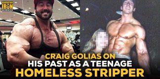 Craig Golias homeless stripper