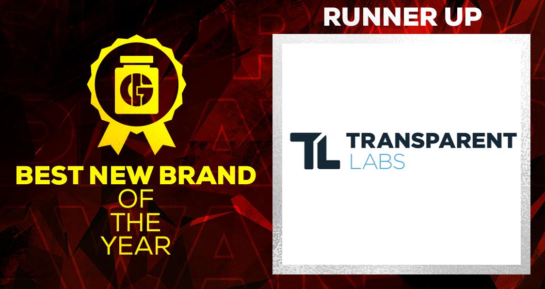 Generation Iron Supplement Awards 2020 Best New Brand Transparent Labs