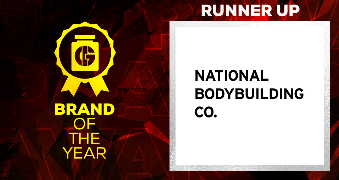 Generation Iron Supplement Awards Brand of the Year National Bodybuilding Co.