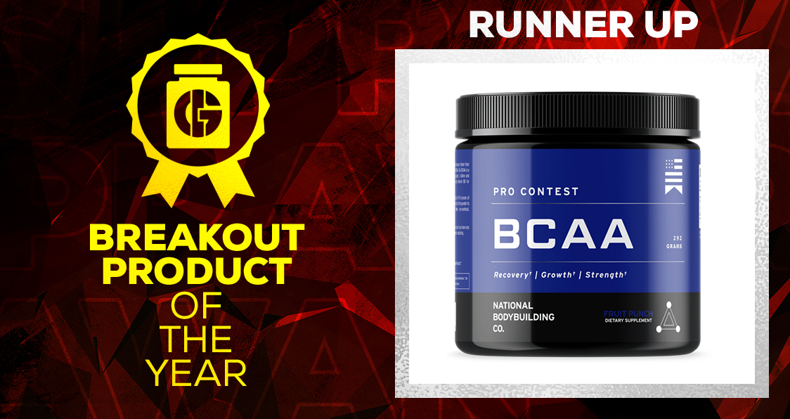 Generation Iron Supplement Awards Breakout Product National Bodybuilding Co. BCAA