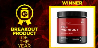 Generation Iron Supplement Awards Breakout Product National Bodybuilding Co. Pre-Workout