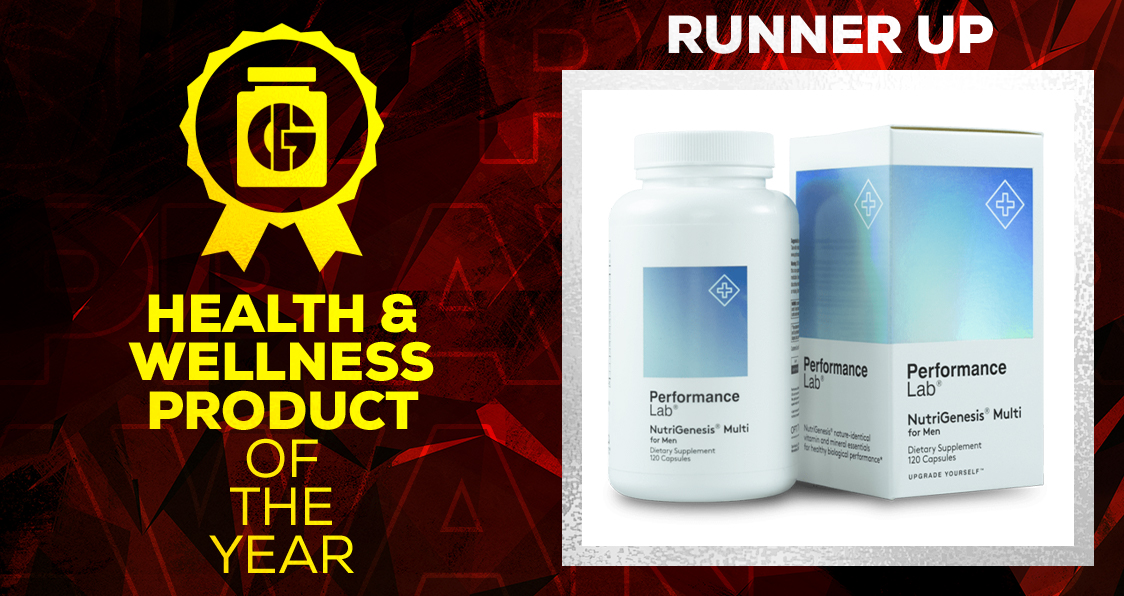 Generation Iron Supplement Awards Health and Wellness Performance Lab Multivitamin Men