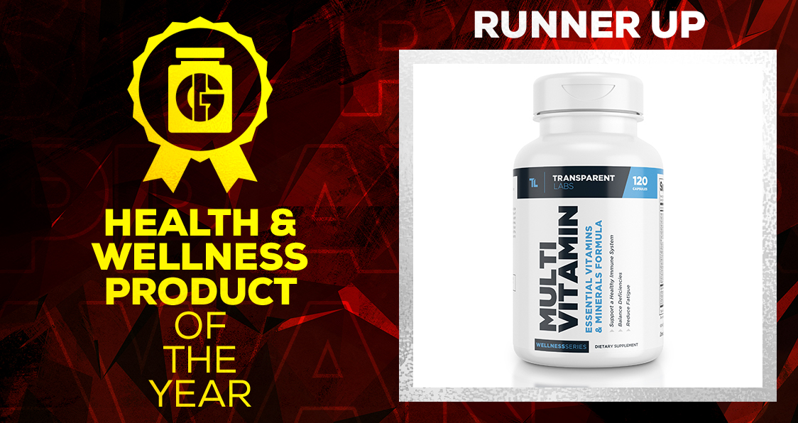 Generation Iron Supplement Awards Health and Wellness Transparent Labs Multivitamin