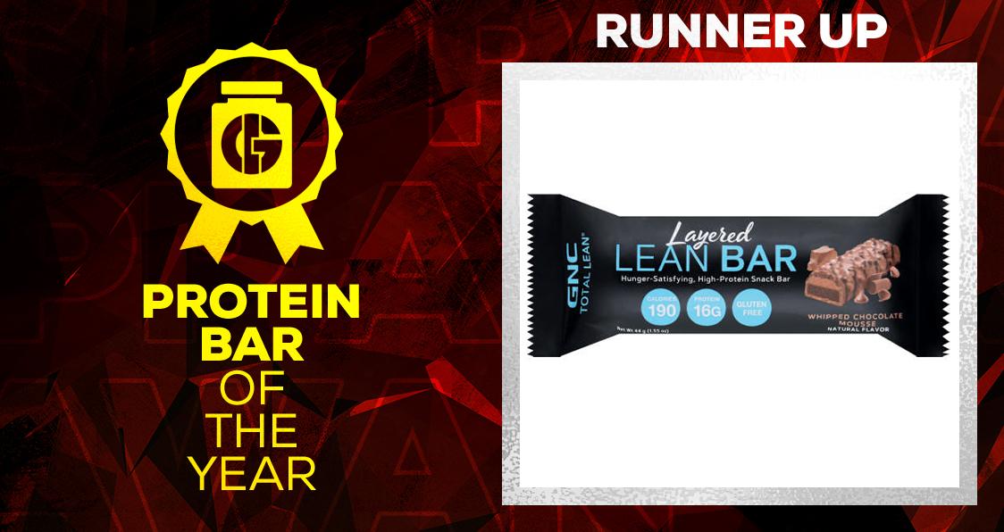 Generation Iron Supplement Awards Protein Bar GNC Layered Lean Bar Protein