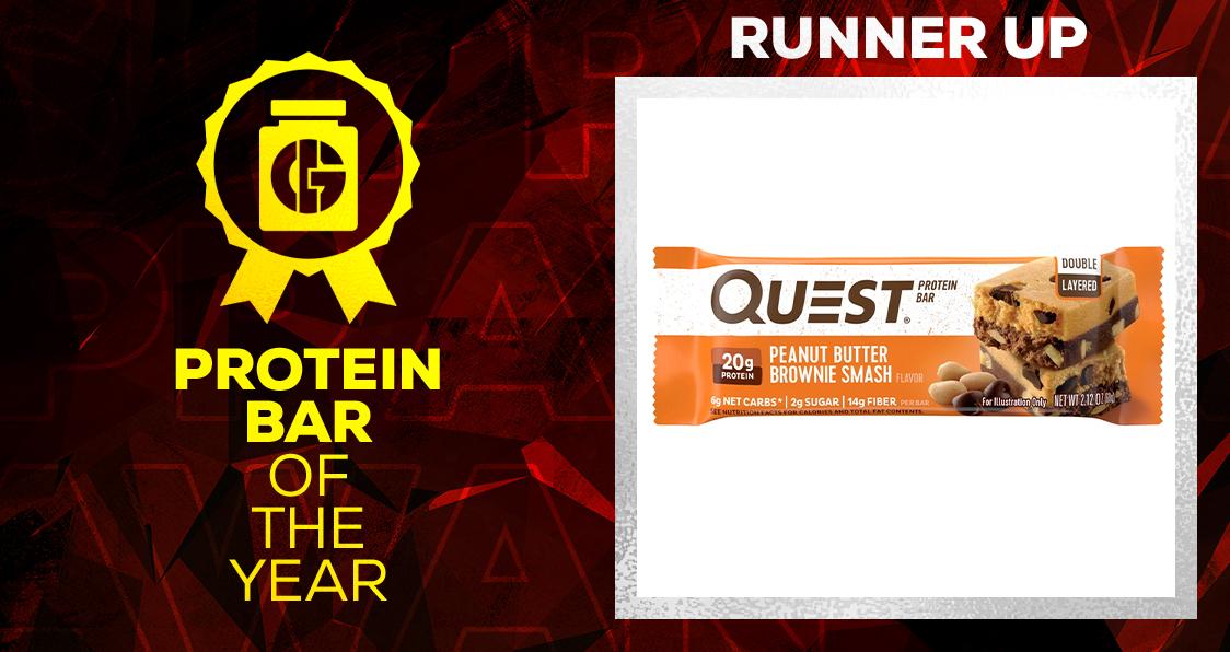 Generation Iron Supplement Awards Protein Bar Quest
