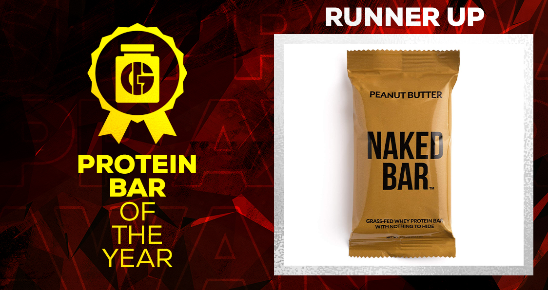 Generation Iron Supplement Awards Protein Bar Naked