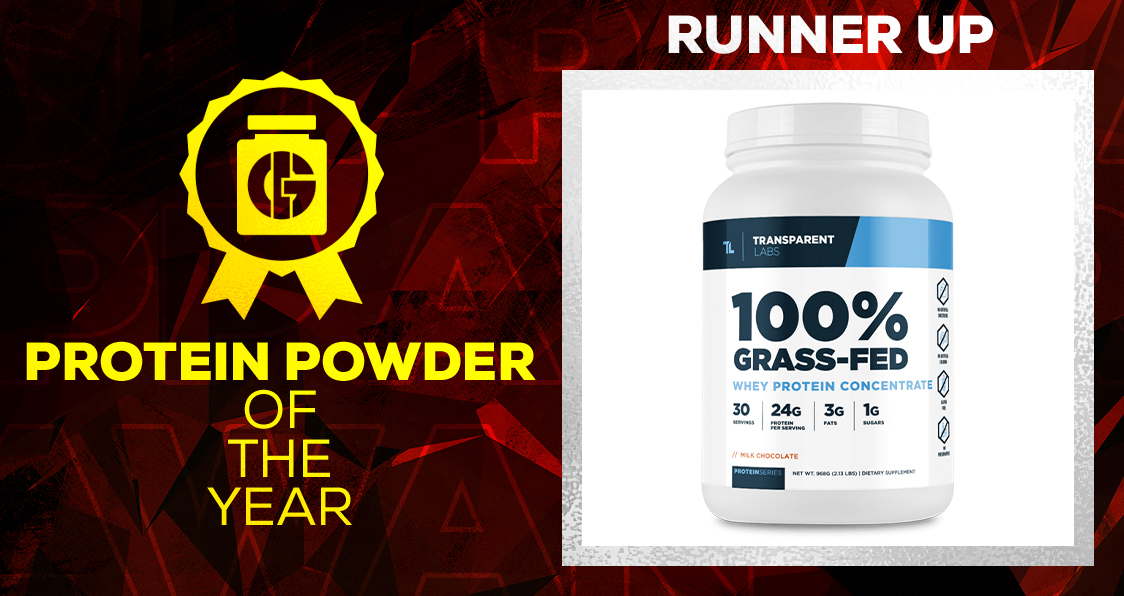 Generation Iron Supplement Awards Protein Powder Transparent Labs