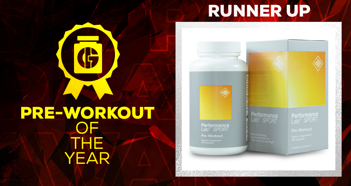 Generation Iron Supplement Awards Pre-Workout Performance Lab Pre