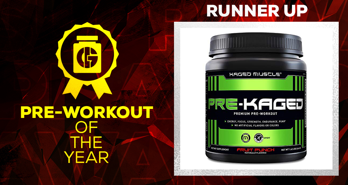 Generation Iron Supplement Awards Pre-Workout Pre-Kaged