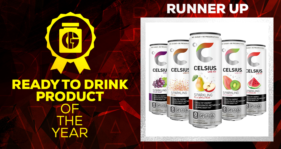 Generation Iron Supplement Awards Ready To Drink Celcius