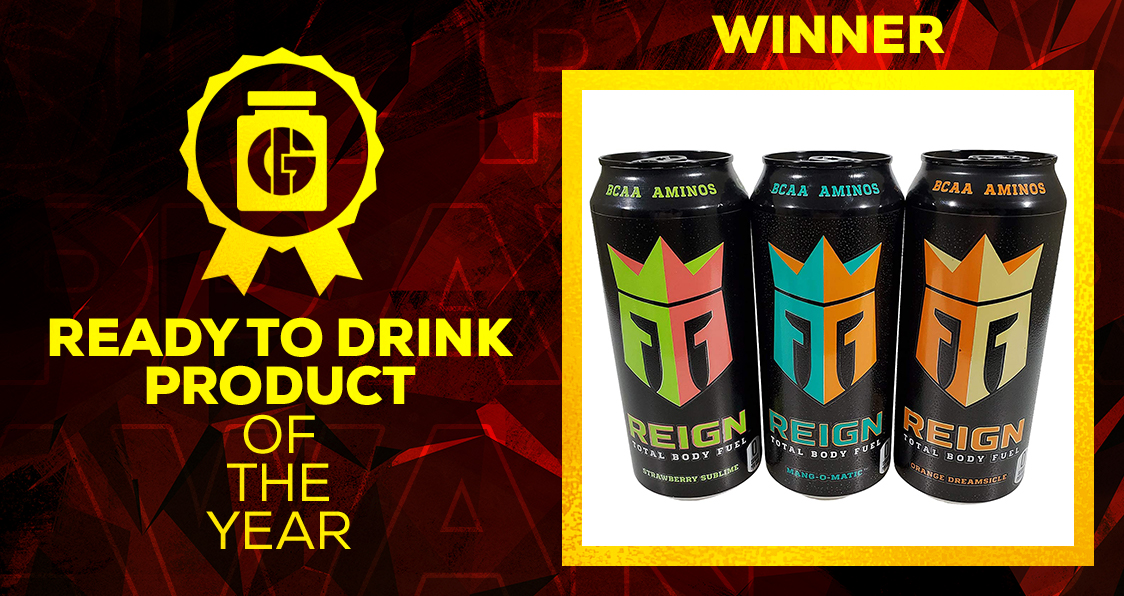 Generation Iron Supplement Awards Ready To Drink Reign