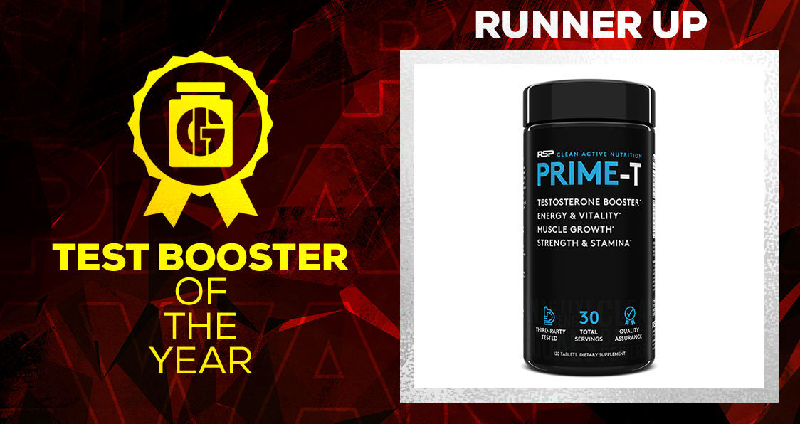 Generation Iron Supplement Awards Testosterone Booster RSP Nutrition Prime-T