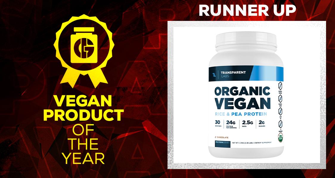 Generation Iron Supplement Awards Vegan Product Transparent Labs Organic Vegan