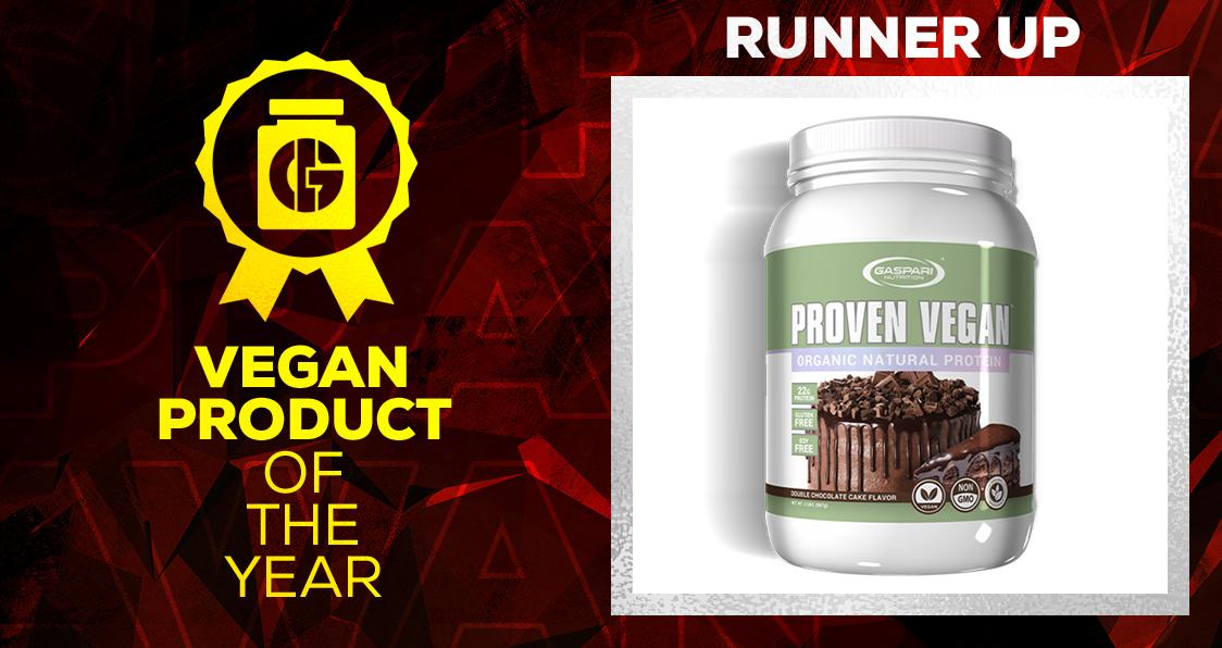 Generation Iron Supplement Awards Vegan Product Gaspari Nutrition Proven Vegan