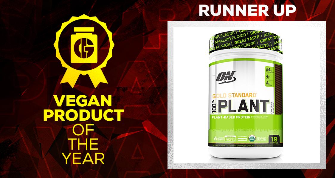 Generation Iron Supplement Awards Vegan Product Optimum Nutrition 100% Plant